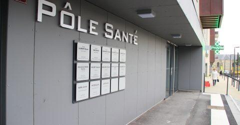 Photo de la façade du Pôle Santé