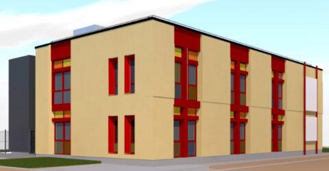 Vue 3D de la nouvelle école de musiques