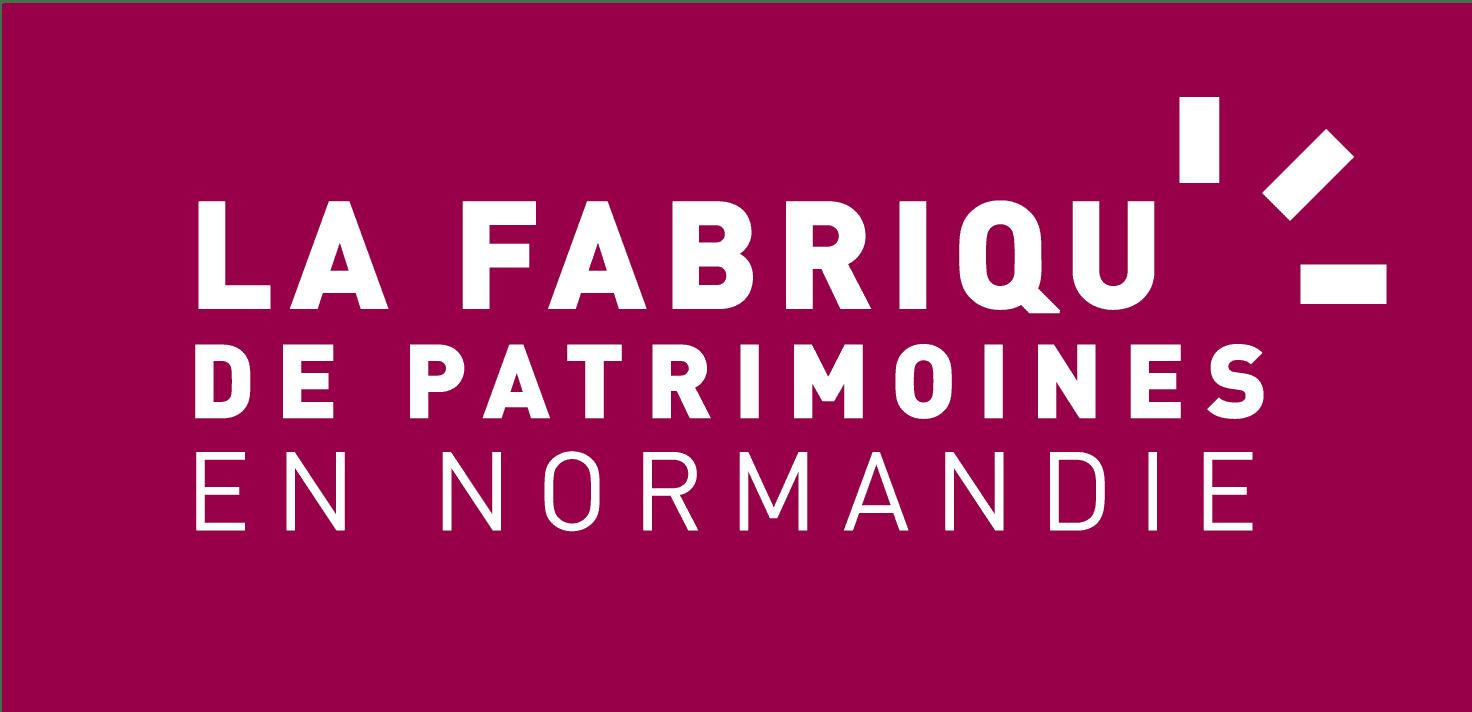 Logo de la Fabrique de Patrimoines en Normandie