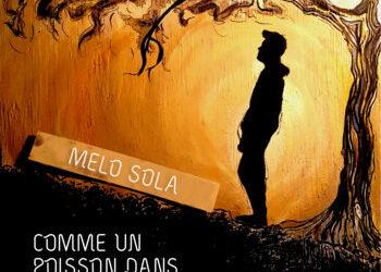 """Couverture de l'album de Mélo Sola """"Comme un poisson dans le desert"""""""