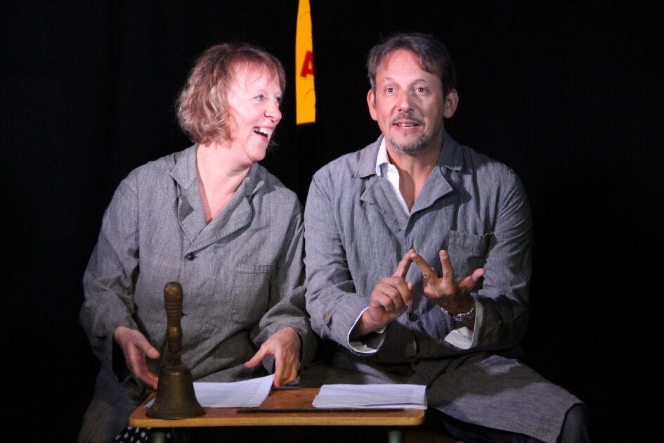 Spectacle Michel et Josette compagnie Akté